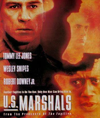 Poster Of U.S. Marshals 1998 In Hindi Bluray 720P Free Download