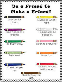 Be a Friend, Make a Friend posters for Making Friends is an Art