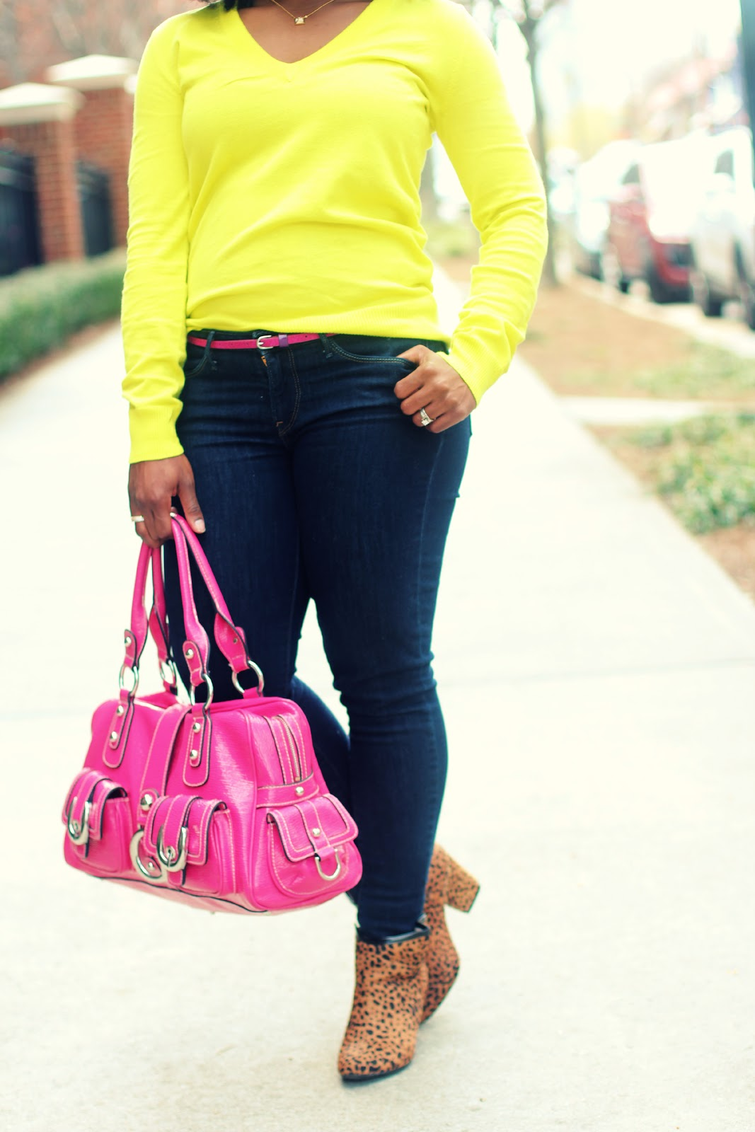 89f8e12eaa0 Outfit  Casual Friday Neon and Pink ~ The Serena Saga