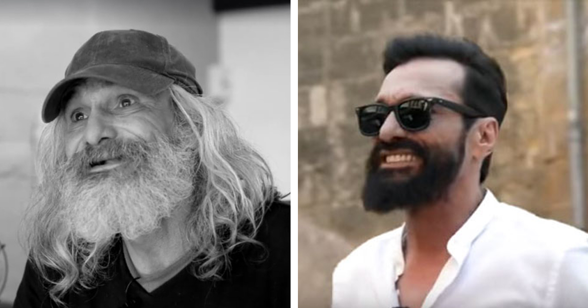 Homeless Man's Unbelievable Makeover is a Life-Changing TransformationHomeless Man's Unbelievable Makeover is a Life-Changing Transformation