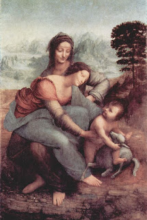 The Virgin and Child with St. Anne, por Leonardo da Vinci