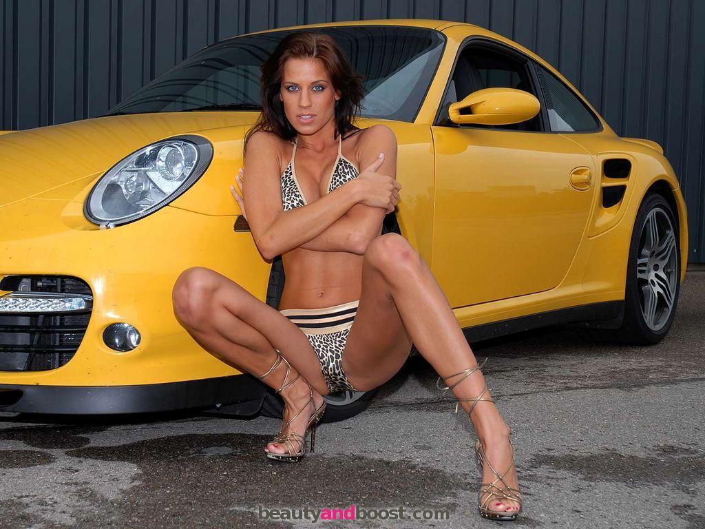 naked girls exotic cars