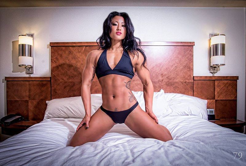 Female Fitness, Figure and Bodybuilder Competitors: Kayla