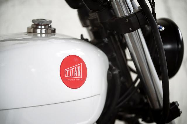 Honda SLR650 By Titan Motorcycles Hell Kustom
