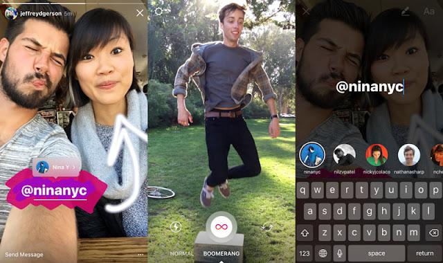 Cara Membuat Video Foto Berulang-ulang di Instagram, Cara Membuat Video Foto Boomerang, Cara Membuat Stories Boomerang di Instagram, Cara Membuat Boomerang di Snapgram.