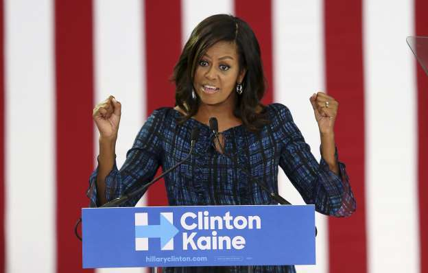 (Video) Michelle Obama goes off on Donald Trump