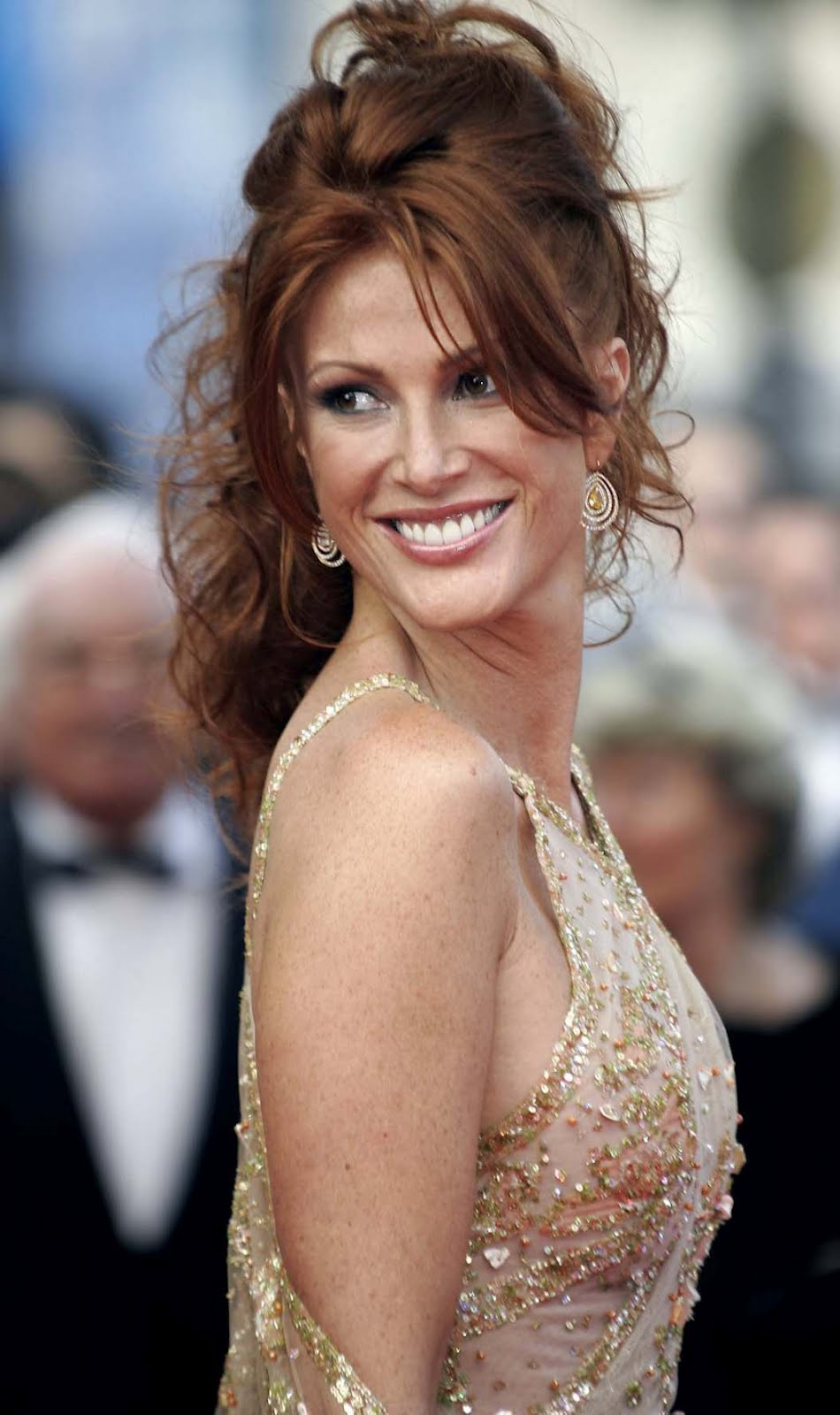 Angie Everhart Playboy celebrities flash: angie everhart