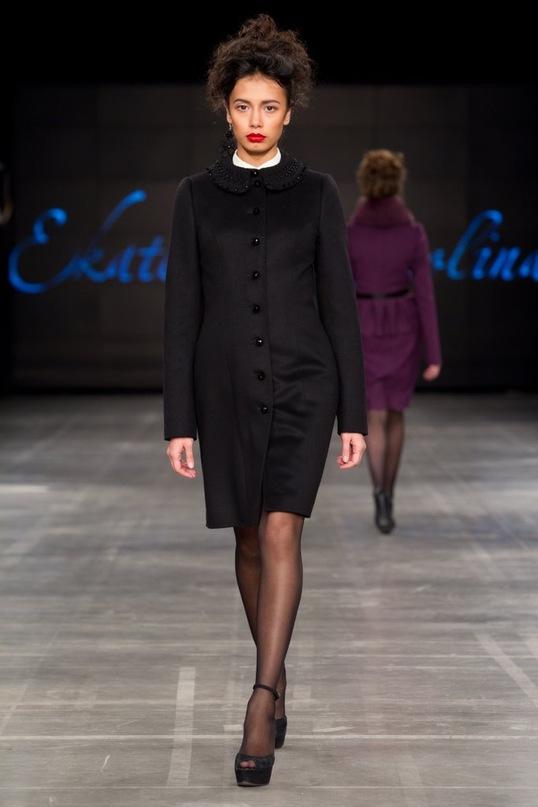 a4ae46031d3 ... была свидетельницей очередного показа осенне-зимней коллекции  петербургского дизайнера Екатерины Смолиной