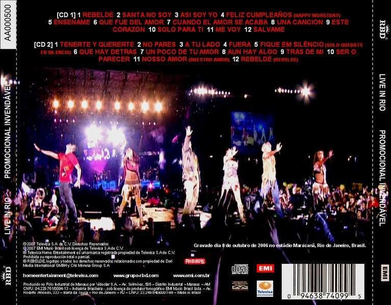 RBD AMOR CD BAIXAR GRATIS NOSSO