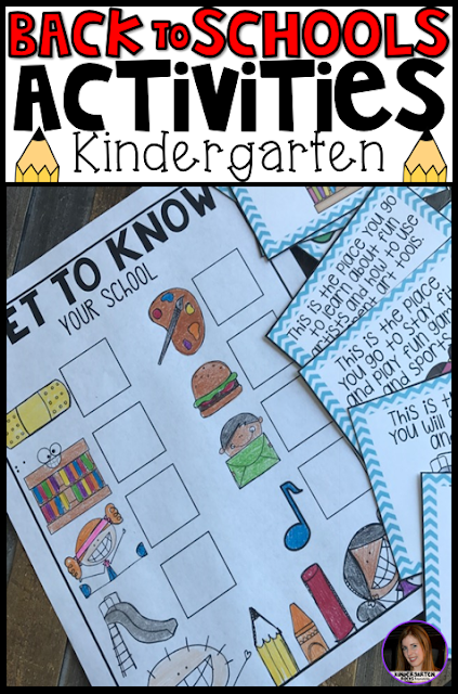 Are you looking for back to school, first week of school and getting ready for kindergarten centers and activities for you students or child. Then Back to School Centers and Activities is what you're looking for!