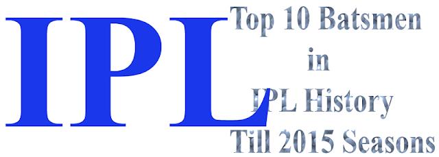 IPL T 20 Highest Run Scorer