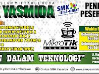 Desain Spanduk PPDB SMK Yasmida Ambarawa