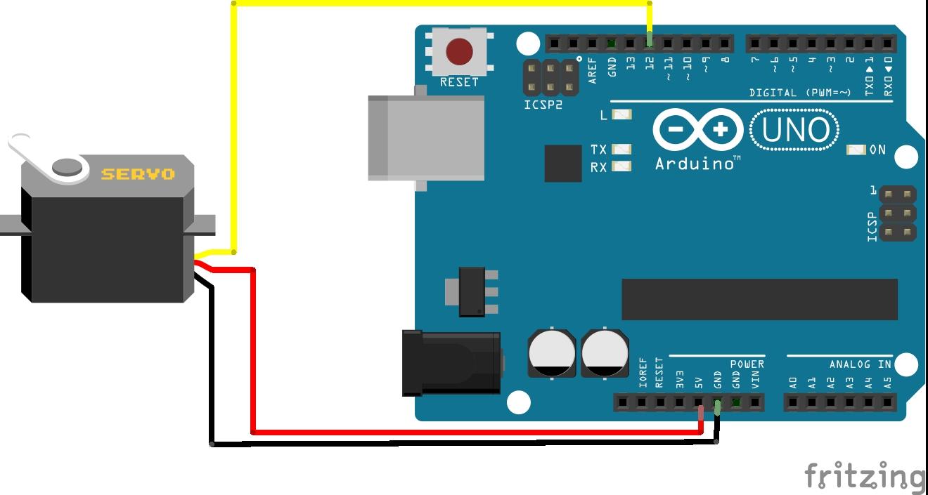 Kontrol motor servo menggunakan arduino tutor bagus