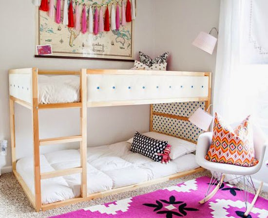 Crib And Twin Bed Shared Room Ideas