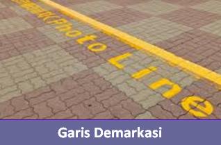 Definisi garis demarkasi dan contoh garis demarkasi
