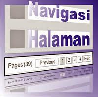 Cara Membuat Navigasi Halaman Pada Blog
