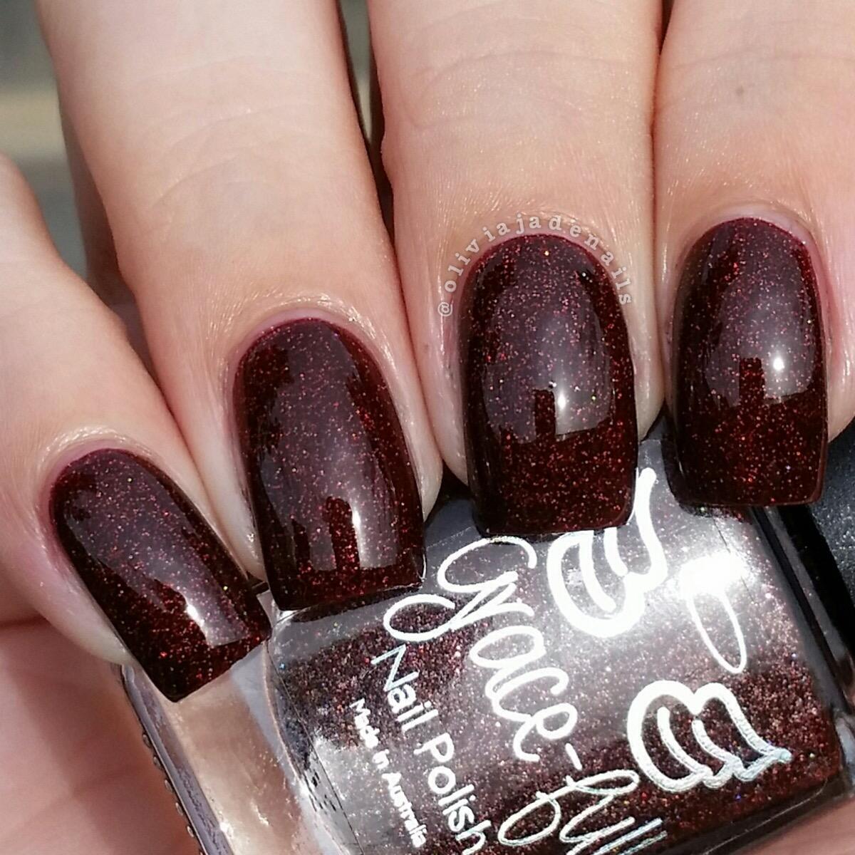 Olivia Jade Nails: Grace-full Nail Polish Revamp Of The Vampire ...