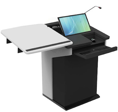 E-lectern- an integrated solution to deliver speech, lecture and presentation