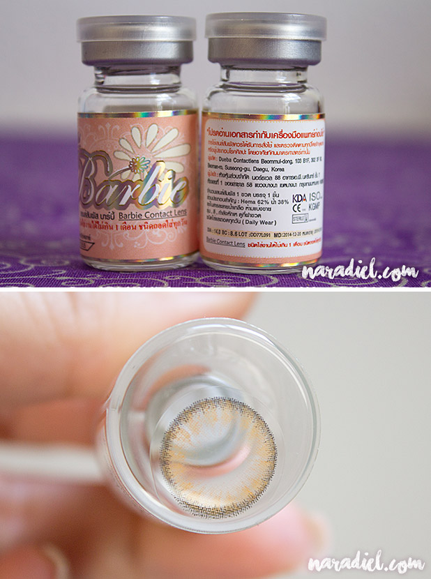 Review Lentillas Dueba Barbie Tony Brown de Solution-Lens