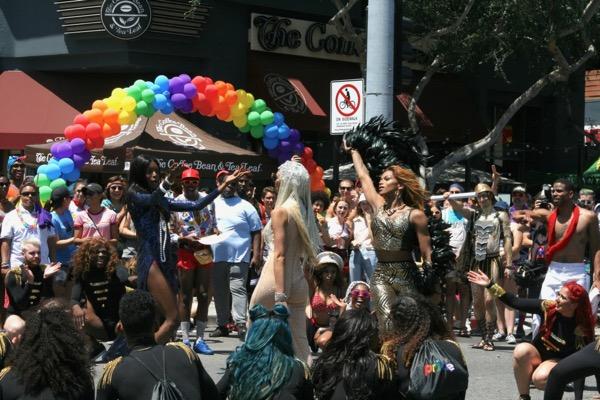 LA Pride Parade POSE dancers