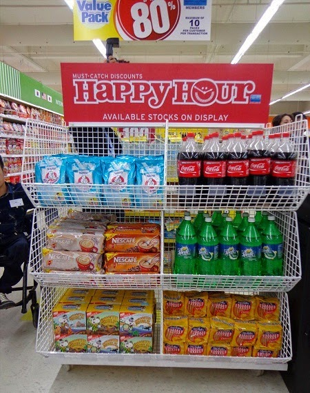 SM Supermarket Happy Hour