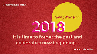 Celebrate new beginning with greetings live