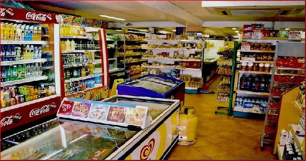 Mô hình siêu thị mini chân tòa nhà, kinh doanh có dễ