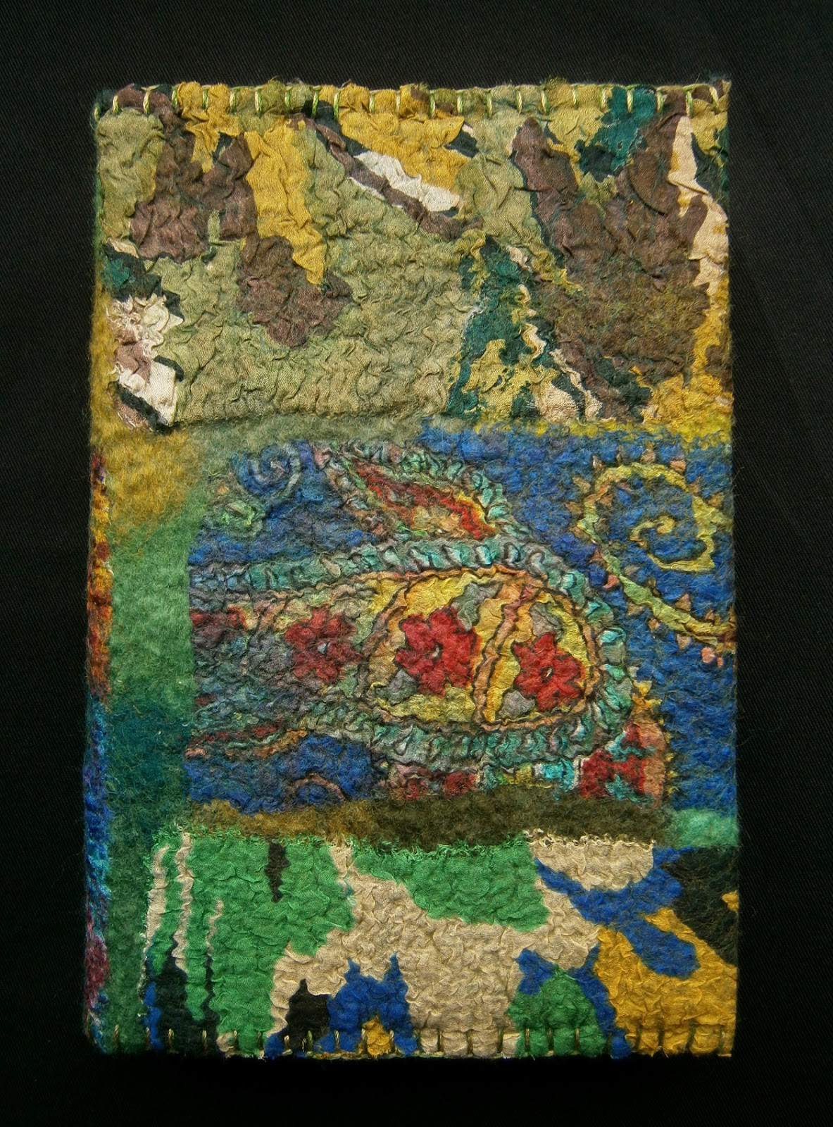 Handmade Felt Book Cover : Felt by zed handmade book covers