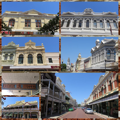 Fremantle Things to Do: Check out the high street. Collage of architecture