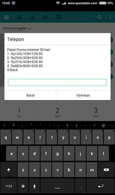 Pada kesempatan kali ini ane akan membagikan bagamana cara daftar paket internet telkomse Kuota Internet Telkomsel 2019 10 ribu 1GB Terbaru