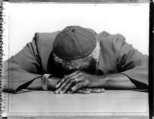 Archbishop Desmond Tutu, Chairman of the Truth Commission, Cape Town, 2001 © Jillian Edelstein
