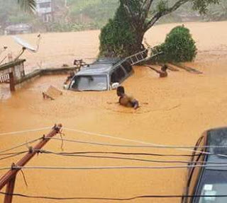 Graphic photos: More than 300 dead after huge mudslide and flooding in Sierra Leone