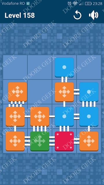 Connect Me - Logic Puzzle Level 158 Solution, Cheats, Walkthrough for android, iphone, ipad and ipod