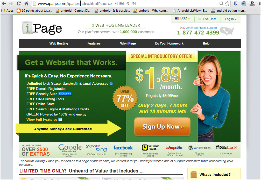 Best wordpress hosting sites in 2014 - ipage