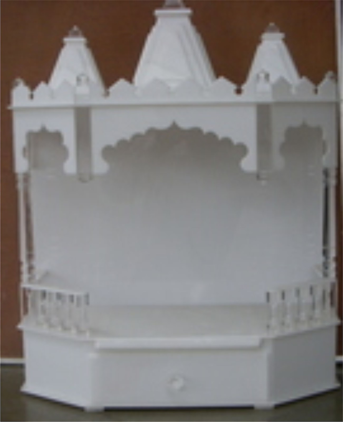 D B Furniture Acrylic Temple