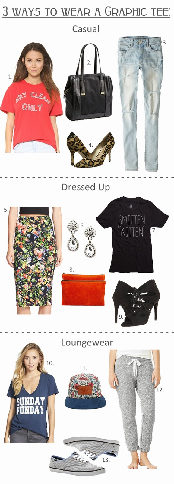 How To Wear A Graphic Tee