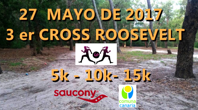 5k 10k y 15k Laura´s distance project (cross en parque Roosevelt, 27/may/2017)