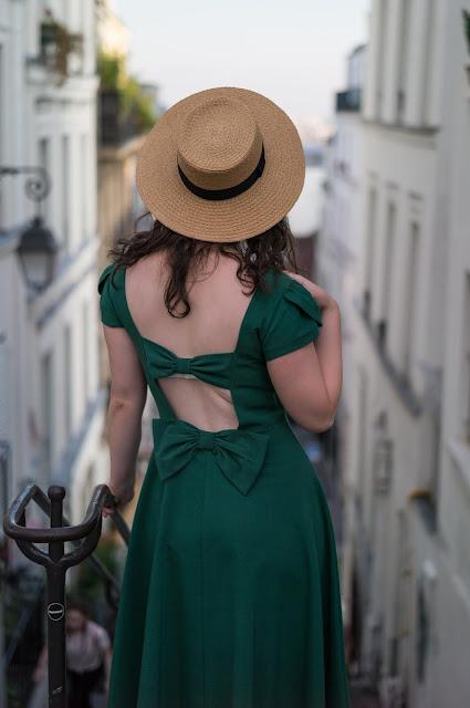 Stop Staring Aspen green dress