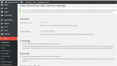 Belajar SEO Wordpress Paling Mudah Dengan Plugin Wordpress SEO