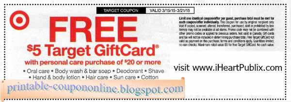 Target printable coupons nov 2018