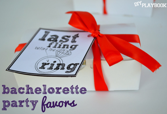 How to make DIY bachelorette party favors