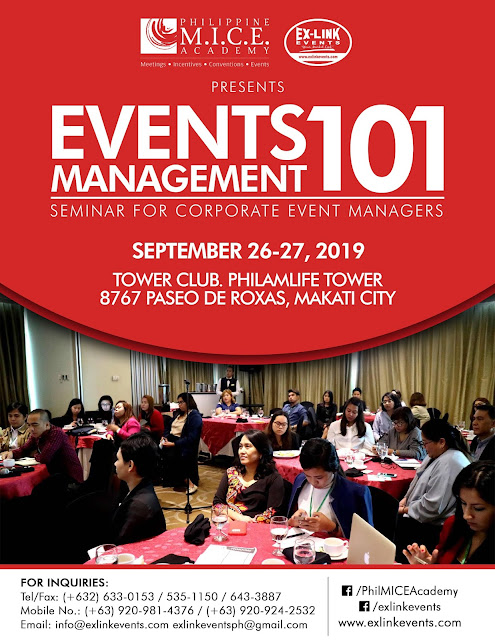 Event Management 101 Conference 2019 | Event Management Seminar