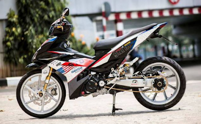Modif motor Drag racing Jupiter MX