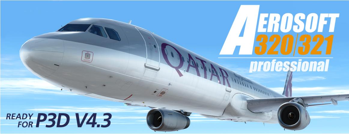 P3Dv4+] Aerosoft Airbus A320/321 Professional V1 1 ~ ᴍᴇɢᴀᴅᴅᴏɴs ®