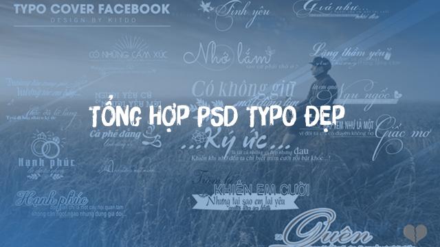 Chia Sẽ Tổng Hợp PSD Typo Cực Chất , Đẹp
