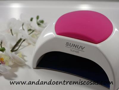 Lámpara de uñas Sunuv