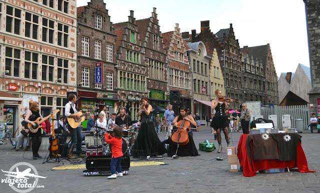 Gante - Ghent - Gent - Bélgica - Belgium - Korenmarkt
