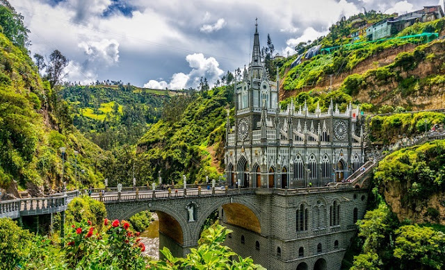 viajar sitios turisticos en colombia para jubilados santuario las lajas pasto