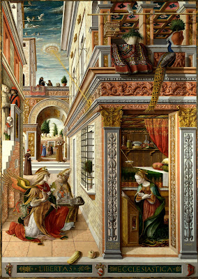 The Annunciation Carlo Crivelli