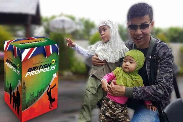 British propolis kids Ippho Santosa dan Keluarga